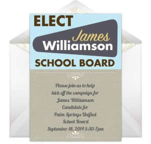Elect James Williamson